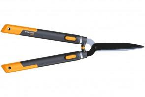 Pulsanti arancioni per regolare la lunghezza dei manici