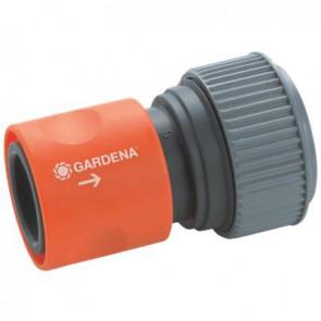 """ATTACCO RAPIDO GARDENA per tubo da 19 mm (3/4"""") e 16 mm (5/8"""") 916-26"""