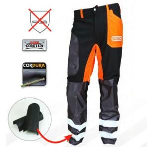 pantaloni con possibilità inserimento parastinchi