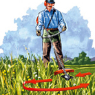 Tecnica di base con erba alta