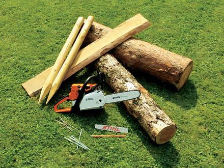 costruire panchina legno occorrente