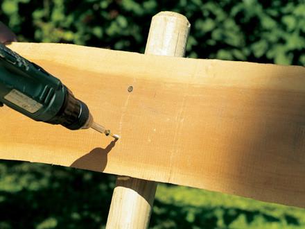 costruire panchina legno fase 4