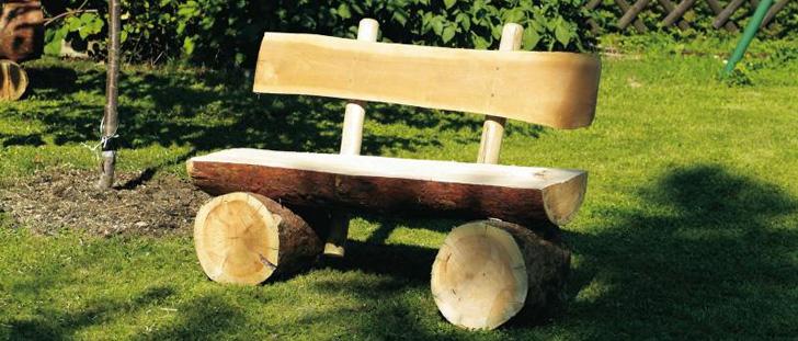 Una Costruire Blog Da Giardino Panchina Motosega Con Come 6vYbf7gy
