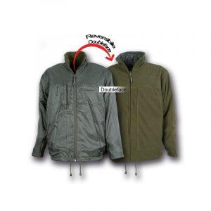 giacca reversibile
